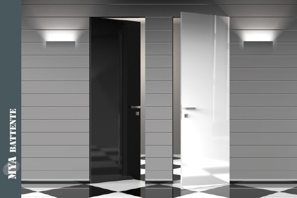 Porte a filo muro l invisibile prezzi with porte a filo - Porte invisibili scorrevoli ...