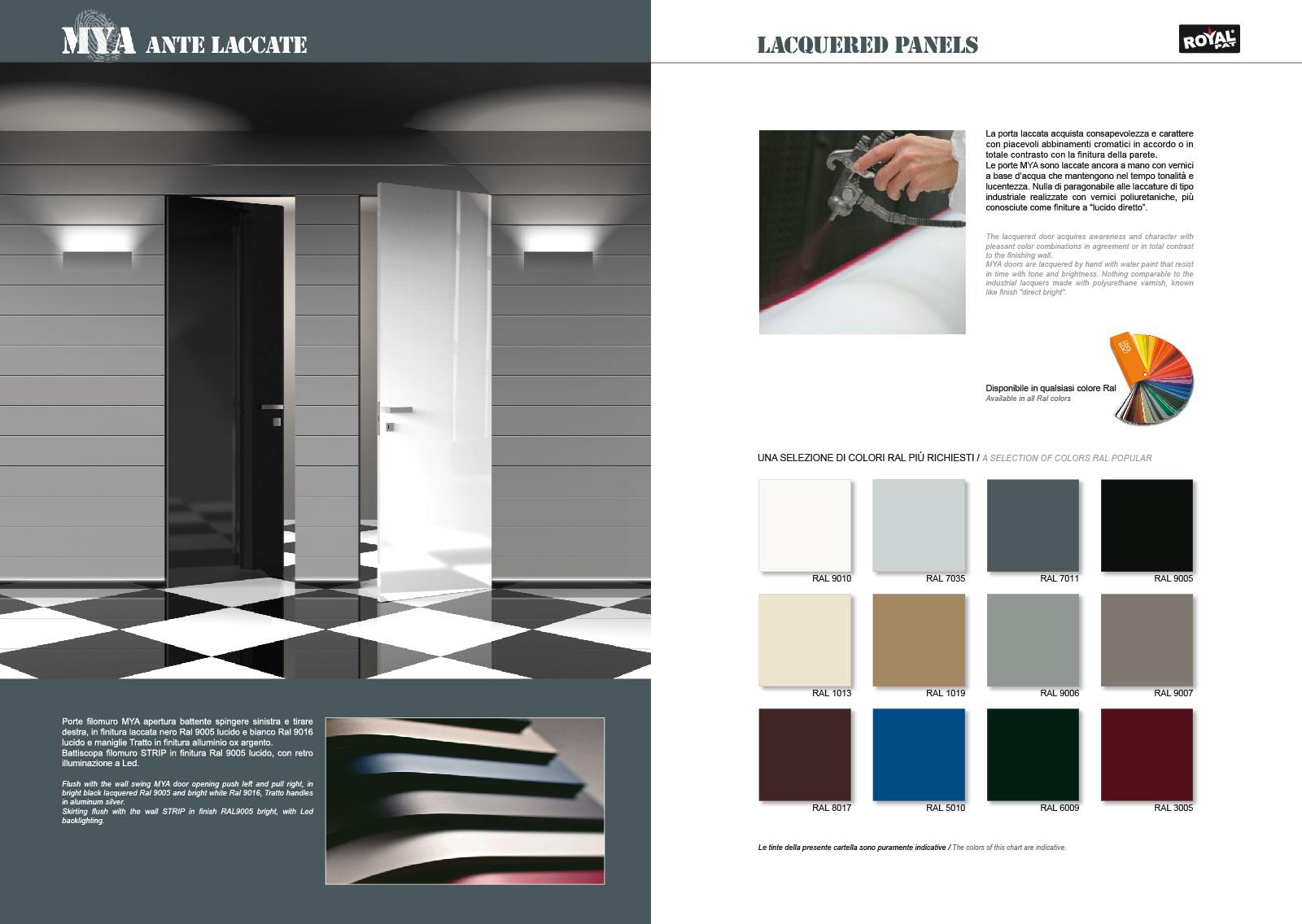 Flush Wall Doors MYA® « RoyalPat
